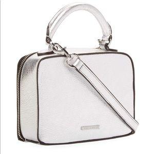 Rebecca Minkoff Silver Box Bag
